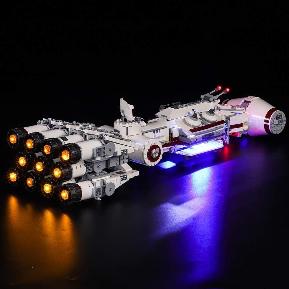 VONADO 24911 Tantive IV Stand for 75244 Star Wars MOC Building Blocks Toys 277 PCS
