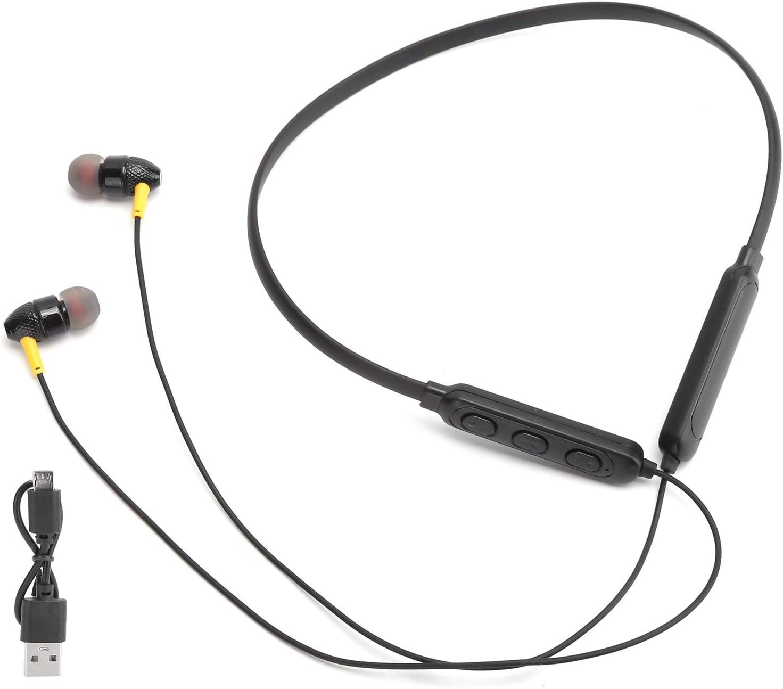 Kafuty-1 Auriculares Bluetooth 5.0 para Colgar en el Cuello, Auriculares inalámbricos, estéreo, Bajos, Banda para el Cuello, Auriculares, Auriculares