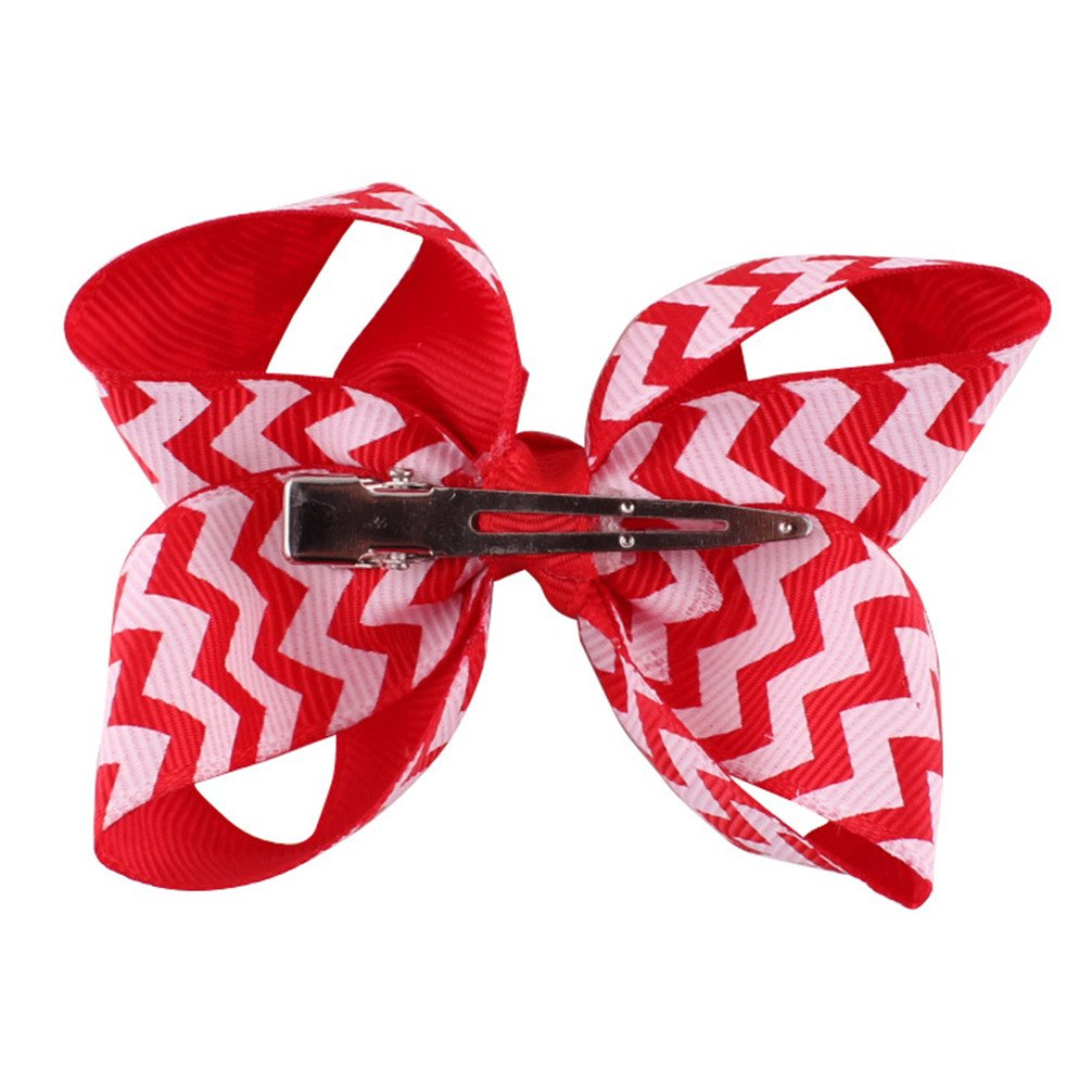 coolgoes con lazo de beb/é ni/ña del pelo diadema ni/ño accesorios para el pelo pelo banda headwear Kid Headdress Rosa y rojo