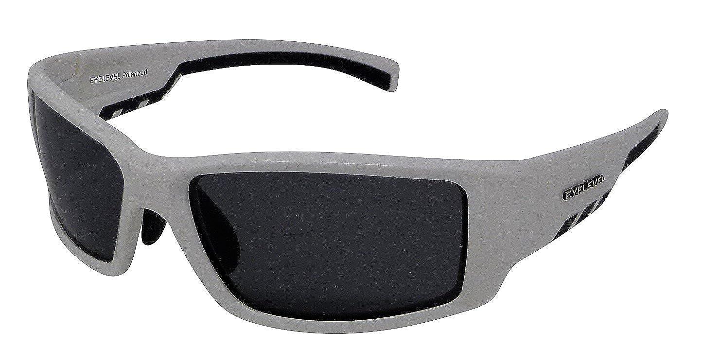 fe32ee6db2f Rapide White Sunglasses Polarized Grey Cat-3 UV400 Lenses  Amazon.co.uk   Clothing
