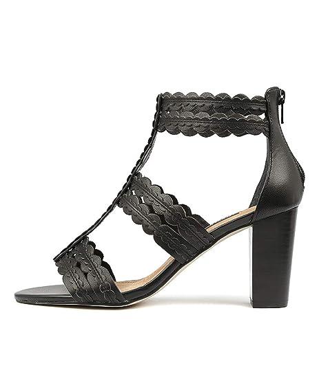 a589a4c41c0b diana ferrari Nikola Black Womens Heels Womens Shoes  Amazon.com.au ...