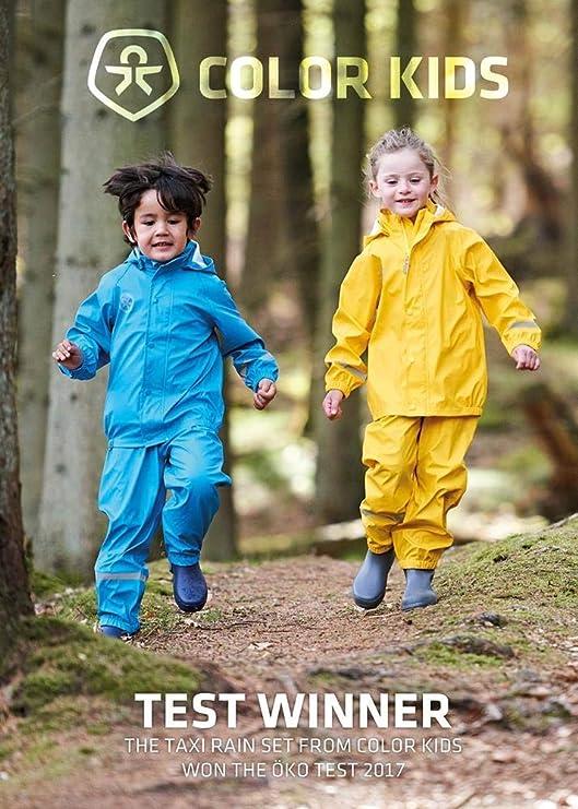 Color Kids Premium Regenhose Marine Blue-116