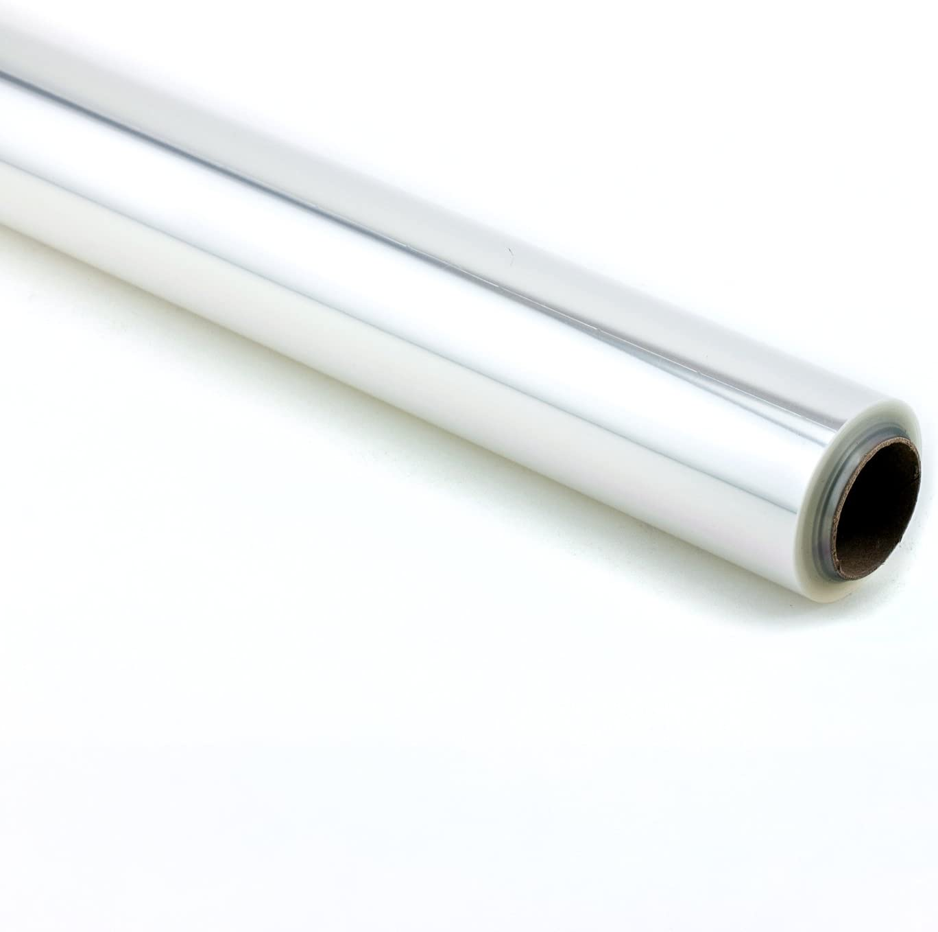 Tytroy Gift Wrapping Clear Cellophane Roll for Gift Baskets, Christmas Wrapping Arts and Crafts (40 in. x 100 ft)