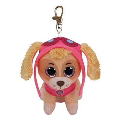 T&Y Ty Paw Patrol SKYE - Cockapoo Dog clip Plush Key Chain: Toys & Games