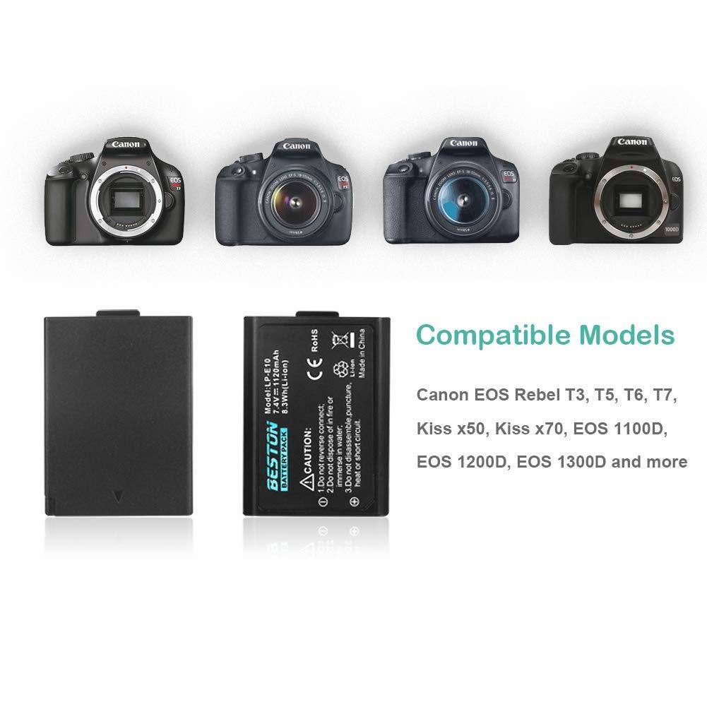 Amazon.com: LP-EH - Pilas para cámaras Canon: Camera & Photo