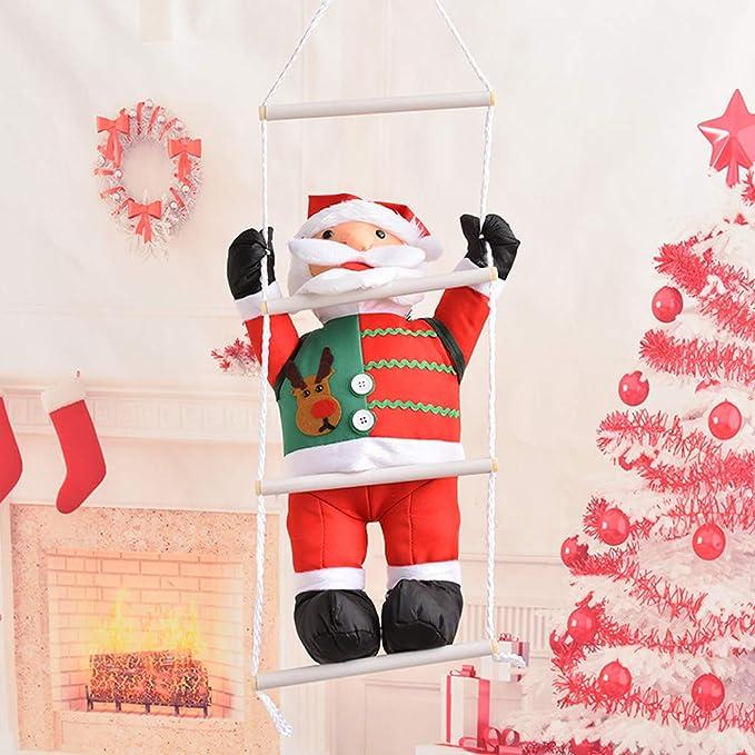 VijTIAN - Cuerda de Escalada para árbol de Navidad, 60 cm ...