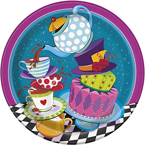 Mad Hatter Tea Dinner Plates,