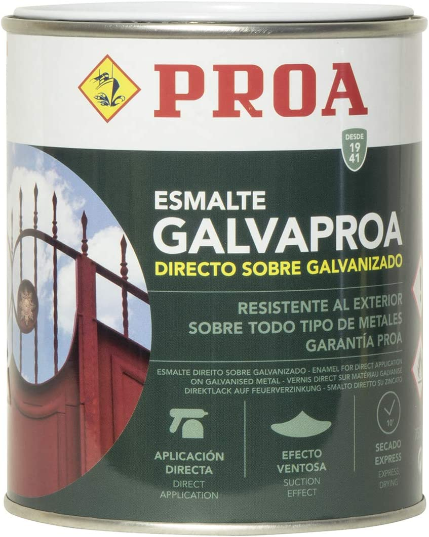 Esmalte directo sobre galvanizado Galvaproa