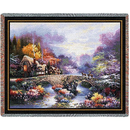 Tapestry Afghan Throw Blanket (Pure Country Going Home Blanket Tapestry Throw)