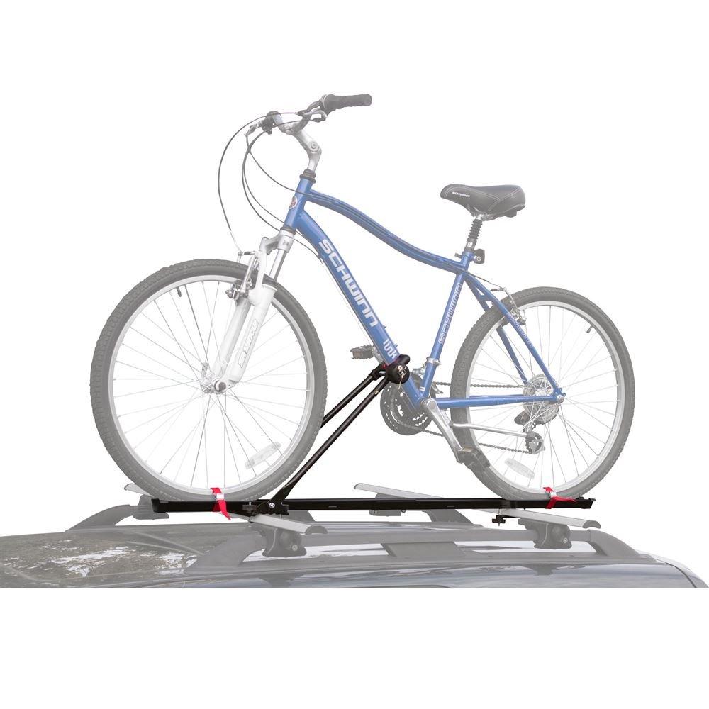 Apex Rage Powersports BCR-641 1-Bike Upright SUV Roof Rack Locking Bicycle Carrier