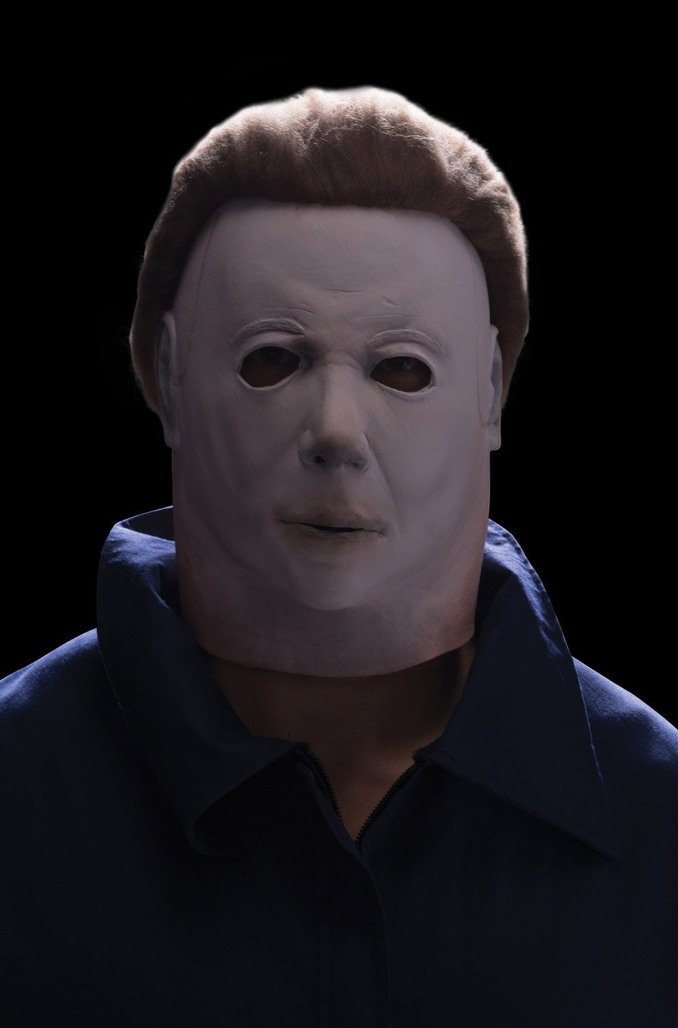 Rubie's Costume Michael Myers Deluxe Overhead Mask, White, One Size