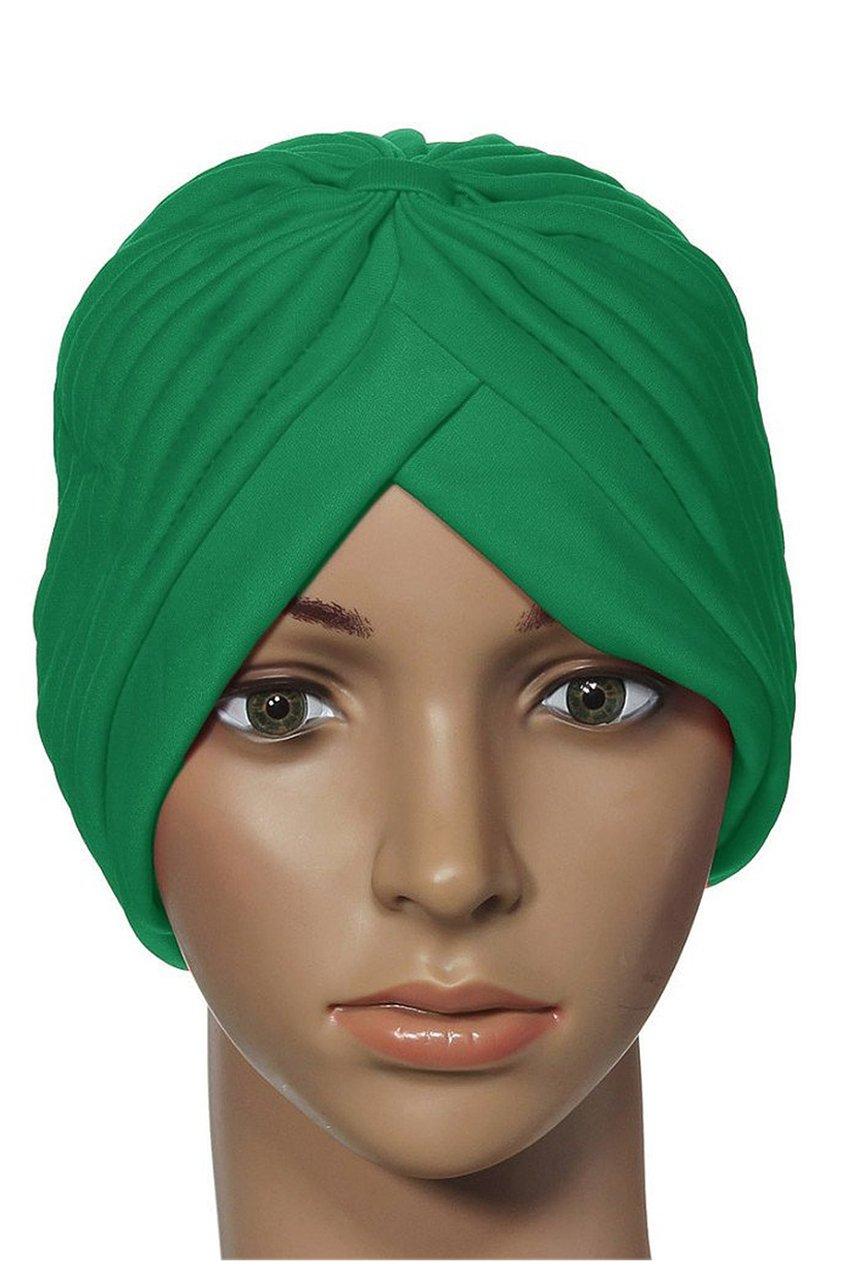 Cappello da donna con cappuccio Yoga cappello stretto da turbante bianca R TOOGOO