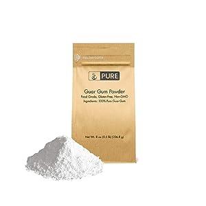 Guar Gum Powder (8 oz.) by Pure, Food Safe, Gluten-Free, Non-GMO, Thickening Agent
