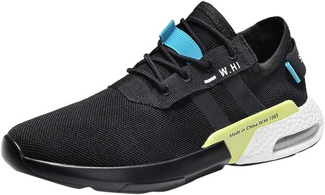 Hombre Zapatillas Deporte Realde Calzado Ligero, Transpirable, Cómodo, Transpirable, Calzado Deportivo Informal Zapatillas de Deporte de Moda Zapatos para Caminar Running Sports Sneakers: Amazon.es: Zapatos y complementos
