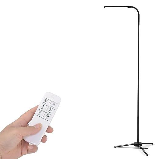 Lámpara de pie 6W LED con Control Remoto y 360° Cuello ...
