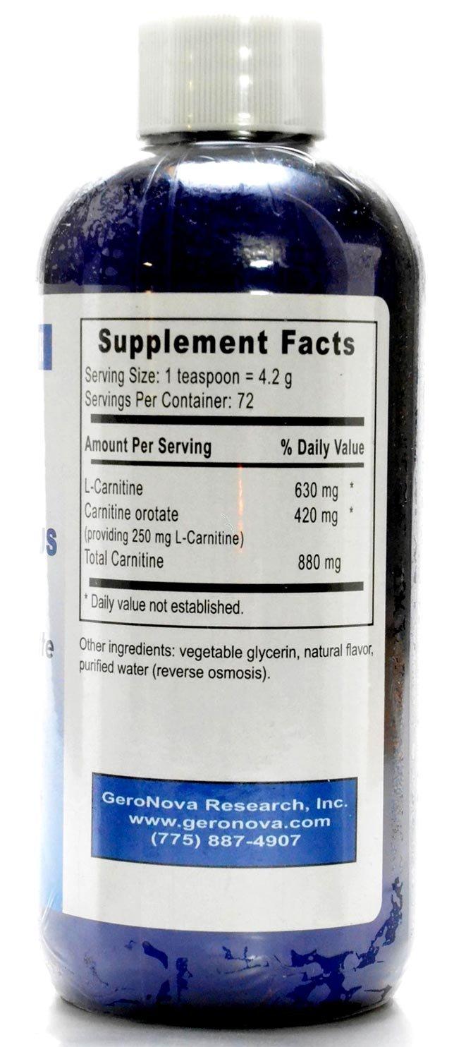 Geronova Research - Liquid Carnitine-Plus 12 oz