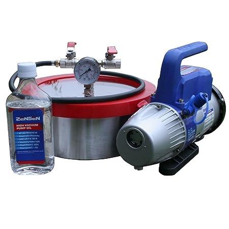 Diy Tools Sealavac Vacuum Chamber And Single Stage 3cfm