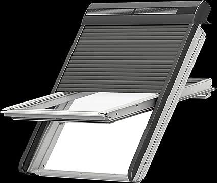 Velux Volet Roulant Solaire 114x118 Cm Amazon Fr Cuisine Maison