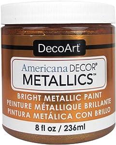 DecoArt Ameri Deco MTLC Americana Decor Metallics 8oz Bronze