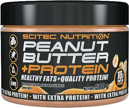 Scitec Nutrition - Crema de Cacahuete + Proteína - 500 g
