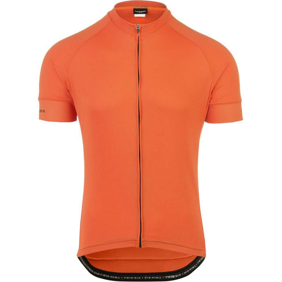 Twin Six Standard半袖Jersey – Men 's B0189VXWYW XL オレンジ オレンジ XL