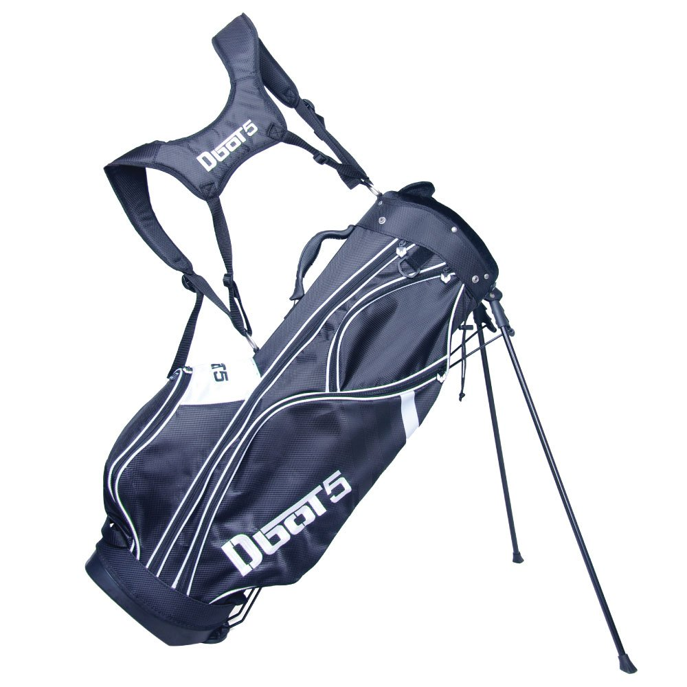 Dbot5 Sound Buddah Golf Bag, Black/White by Dbot5 (Image #1)
