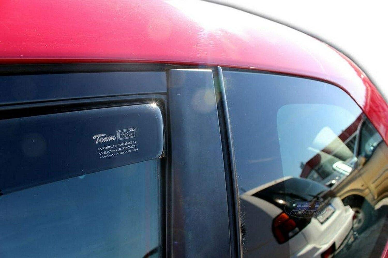 pr/és 2pcs J/&J AUTOMOTIVE Deflecteurs dair D/éflecteurs de Vent Compatible avec Peugeot 208 3 Portes 2012