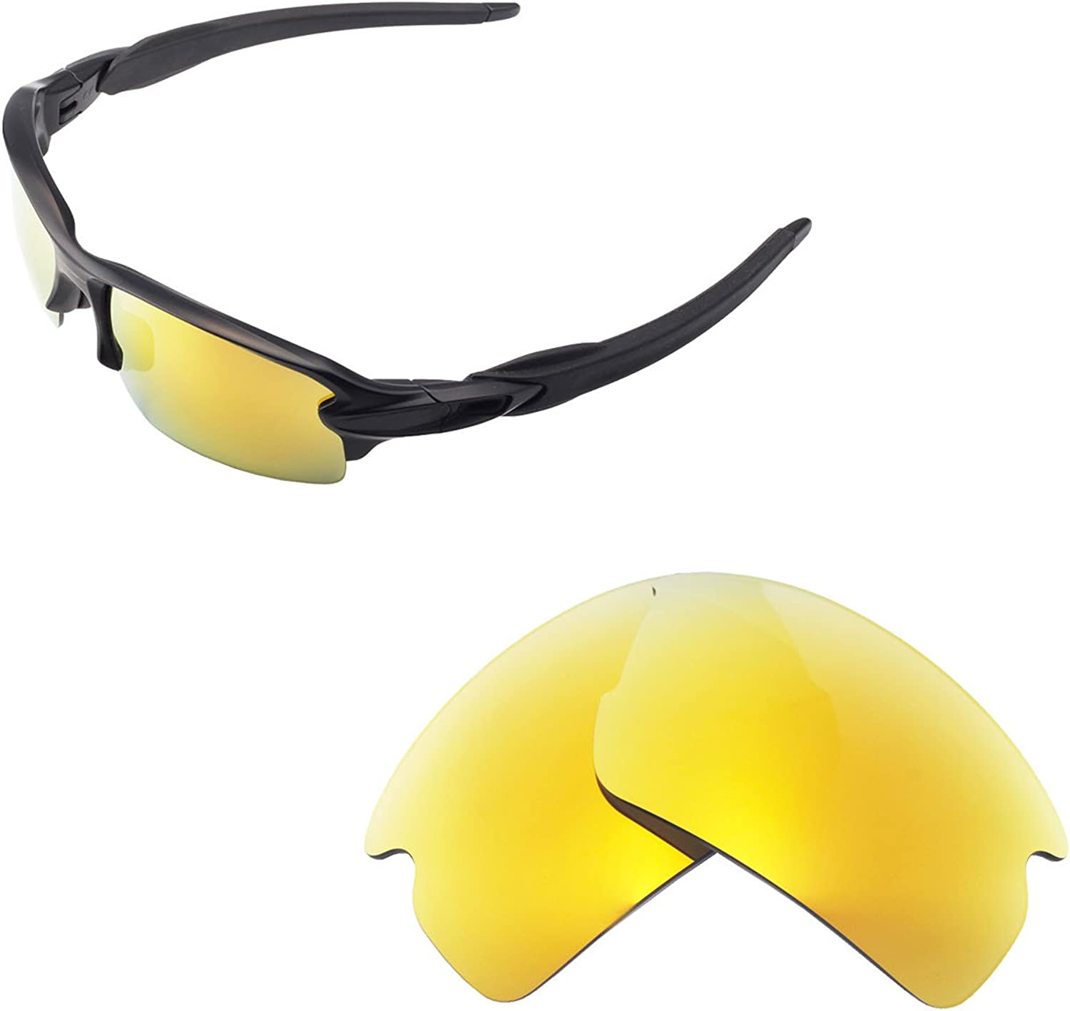 LenzPower Replacement POLARIZED Lens for-Oakely Flak 2.0 XL Vented OO9188 Option