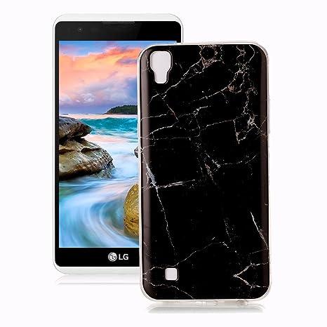 Yunbaozi Funda LG X Power Mármol, Diseño Mármol Carcasa ...