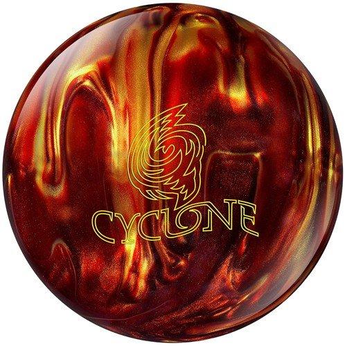 Ebonite Cyclone Fireball Bowling Ball- Red/Gold (14lbs)