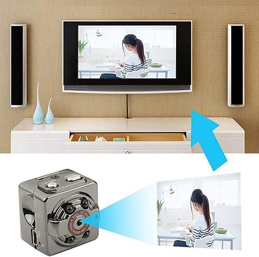 ZCFXGHH Mini HD 1080P del Coche DV VCR conducción de automóviles de la cámara del Registrador de Mini grabadora de vídeo Noche cámara de visión Nocturna DVR: Amazon.es: Hogar