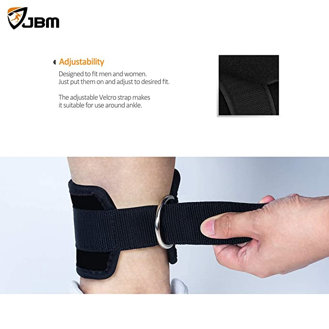 Fitness Equipments 2 Pcs Adjustable Fitnesss Ankle Straps Gym Workout Cable Machine With Buckle Sports Feet Guard Ankle Protector Gym Leg Pullery With Traditional Methods