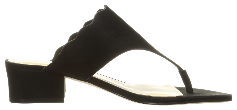 Marc Fisher Women's Veva Flat Sandal B01N2U0Q6B 7.5 B(M) US|Black