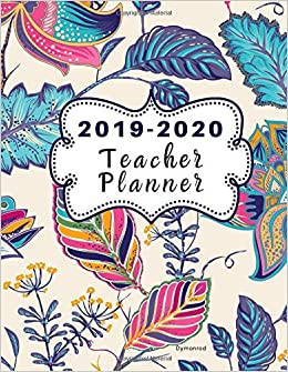 picture about Teacher Plan Books known as 2019-2020 Trainer Planner Dymonrod: Dated Lesson Program Ebook