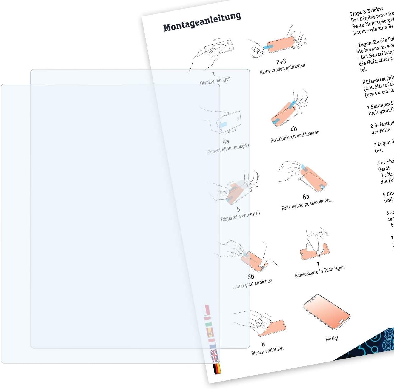 Bruni Schutzfolie Kompatibel Mit Standard Display 2 0 Elektronik