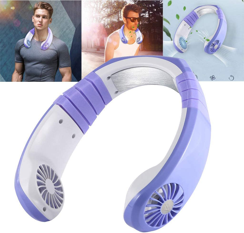 Power Bank Feature CocoMarket USB Rechargeable Handheld Mini Fan with 14-21 Hrs Portable Battery Operated Pocket Desk Fan Whisper Quiet Flashlight Function for Women and Outdoor Foldable