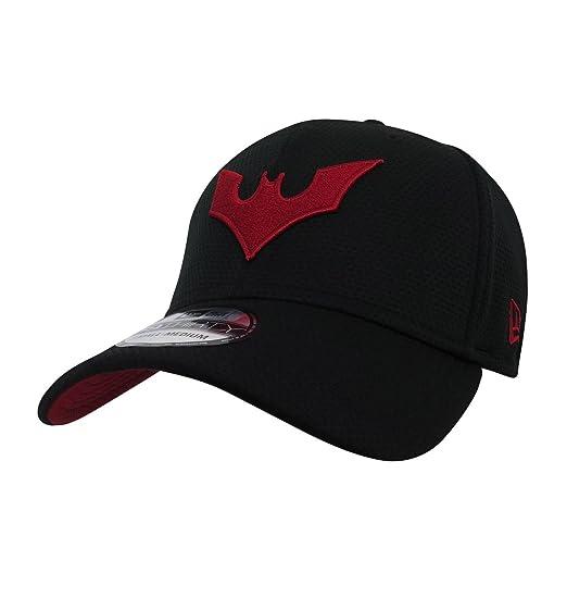 16ef76c6850 DC Comics Batman Beyond Symbol 39Thirty Black Cap at Amazon Men s ...