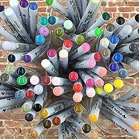 NEW Kuretake ZIG real brush pen 80 clean color set RB-6000AT 80V Free Shipping