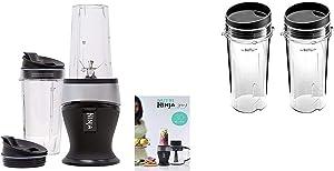 Ninja Personal Blender for Shakes, Smoothies, Food Prep, and Frozen Blending with 700-Watt Base (700 Watt Belnder)