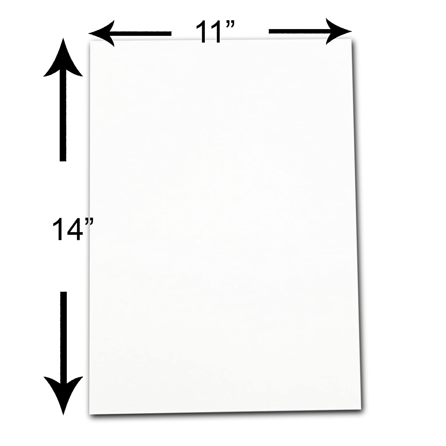 best The Display Guys, Pack of 10, 11x14 inches Picture Mat Matte ...