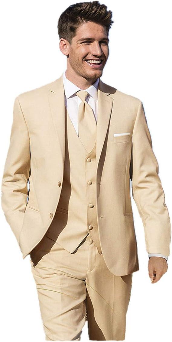 mys Men s Custom Made Bridegroom Boda Esmoquin Traje Pantalones ...