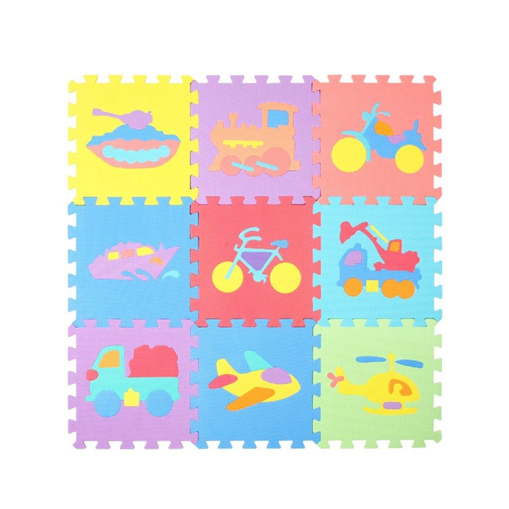 JPPXBD 折りたたみ可能な厚い防湿性のあるかわいい動物パズルフォームパッド子供のクロールマット、クラッシュパッド、ベビークロールマット、 JPPXBD ( Color : #2 )   B07MGPYCLW