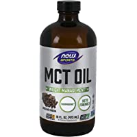 Now Foods MCT aceite chocolate Mocha 473 ml