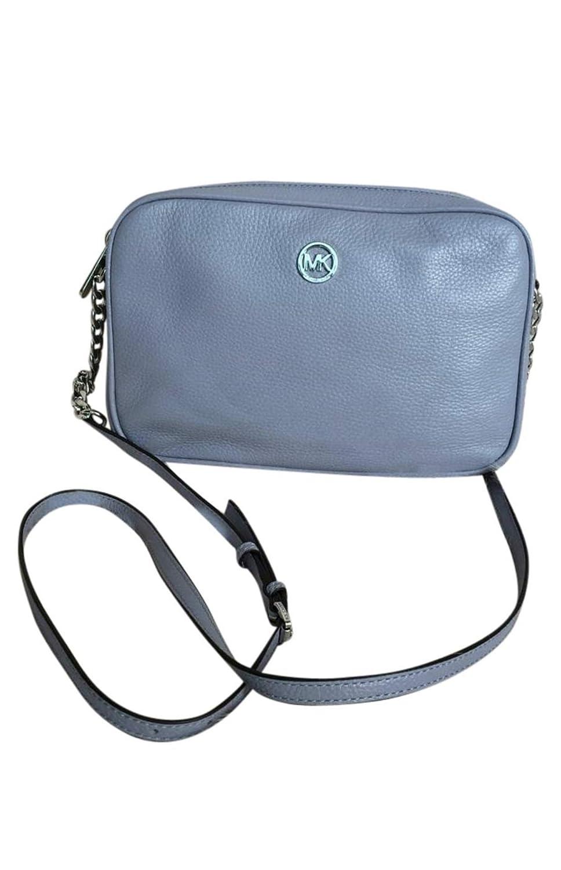 c1219501d200dd Michael Kors Women's Fulton Large EW Leather Cross Body Bag (Black):  Handbags: Amazon.com