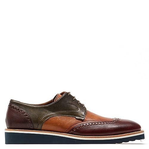 77a91930 Prada Zapato Formal Hombre Cuero 43: Amazon.com.mx: Ropa, Zapatos y ...