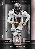 2008 Donruss Elite #109 Colt Brennan Autograph RC
