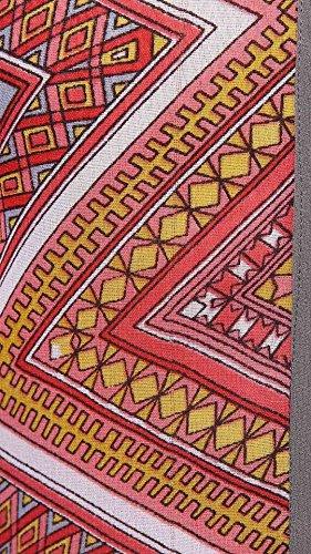 Dream Motif Angel Dreamangel De Mode Imprimé Manches Coupées Multicolores Pleine Longueur Et Kurta Autour Du Cou