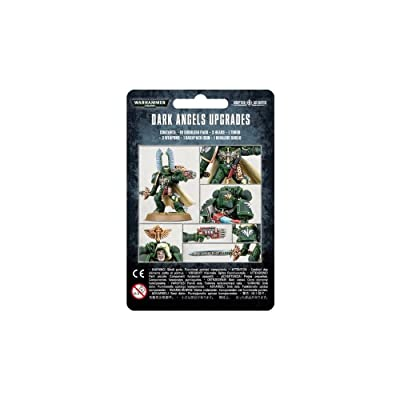 "Games Workshop 99070101014"" Dark Angels Upgrades Tabletop and Miniature: Toys & Games"