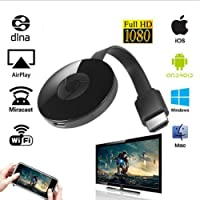 1080P MiraScreen G2 Miracast WiFi Wireless Display HDMI TV Dongle Receiver Cable