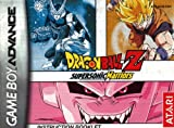 Drabonball Z - Supersonic Warriors GBA Instruction Booklet (Game Boy Advance Manual only) (Nintendo Game Boy Advance Manual)